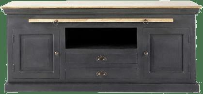 meuble tv chenonceau noir mydecolab