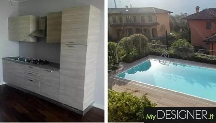 Cucina casa vacanza Bellagio