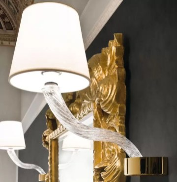 Faretto Elisabeth con lampada ad incandescenza L 15 x P 30 x A 36.8 cm