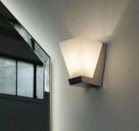 Faretto a parete Fresh con lampada alogena. L 8 x P 10 x A 10.5 cm
