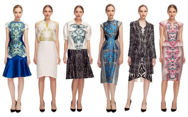 Bibhu Mohapatra Kleider 2013 - schön wie ein Schmetterling