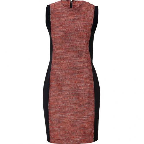 10 Crosby Derek Lam Black/Red Multi Dress
