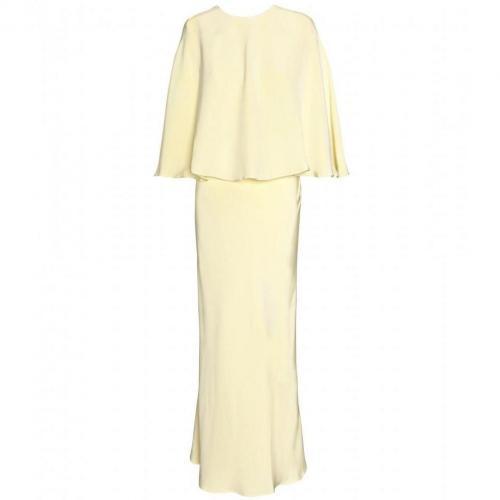 Alessandra Rich Cape-Kleid Mit Gliedergürtel
