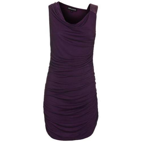 Amor&Psyche Stretch Ruched Purple