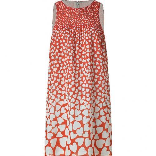 Anna Sui Lipstick Heart Print Kleid