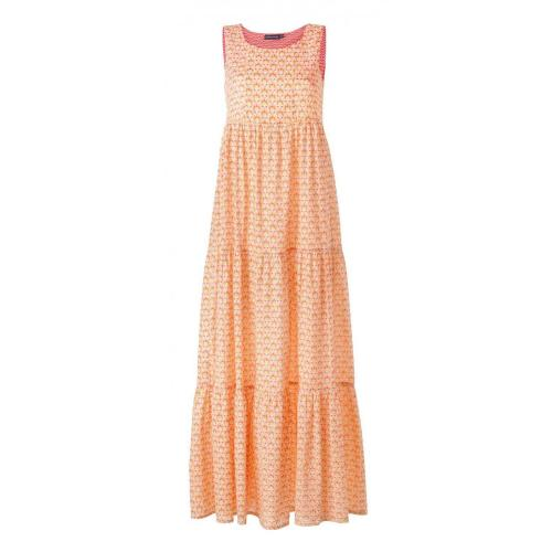 Antik Batik Streli Gown Kleid Orange