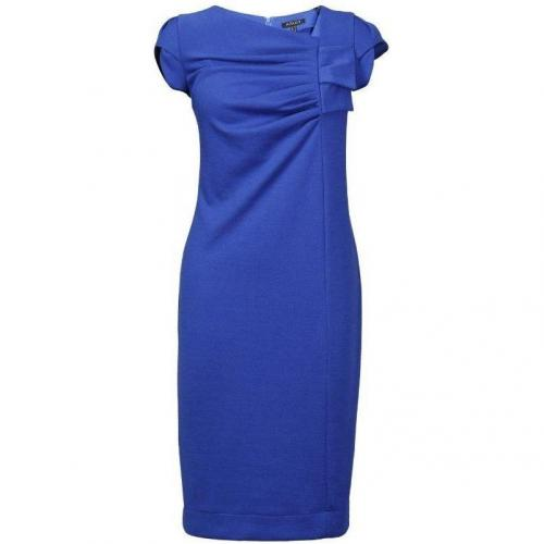 Apart Jerseykleid Blue Kurzärmlig