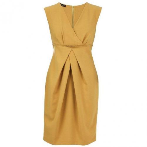 Apart Jerseykleid gelb