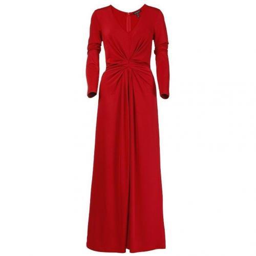Apart Jerseykleid rot mit längeren Ärmeln