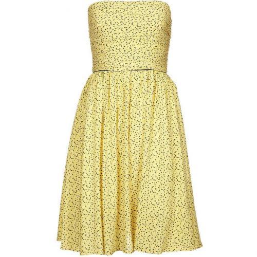 Axara Sommerkleid jaune Gelb Schulterfrei