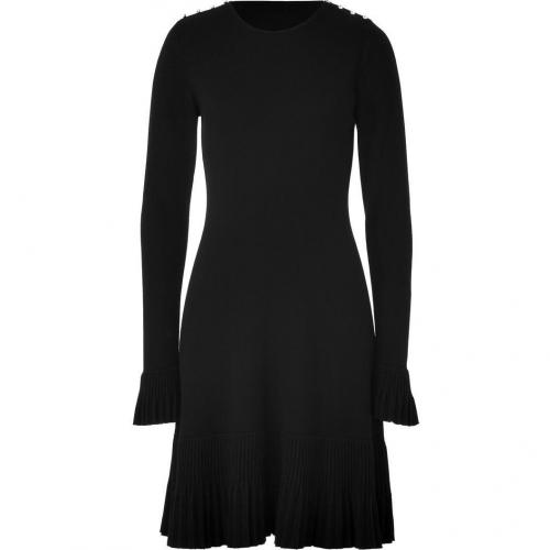 Azzaro Black Maniero Knit Dress