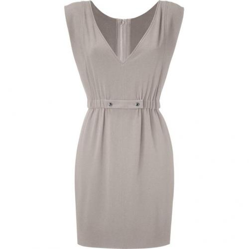 Azzaro Dove Grey Crepe Dress