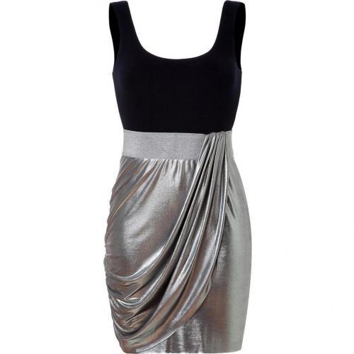 Bailey 44 Navy/Silver Biohazard Dress