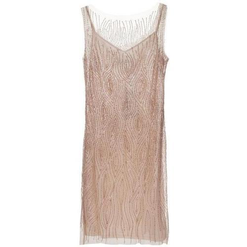 Barbara Schwarzer Long Sequin Nude