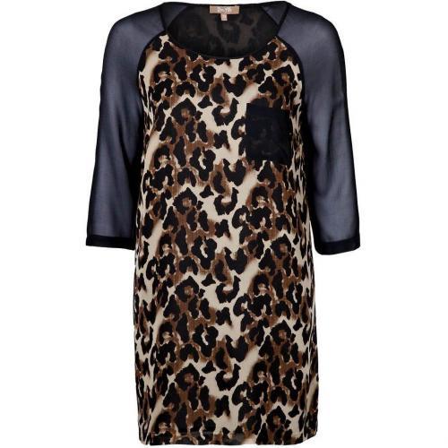 Bel Air Lolita Cocktailkleid / festliches Kleid leopard