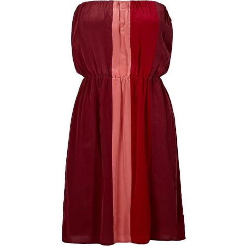 Bel Air Nelson Kleid bordeaux