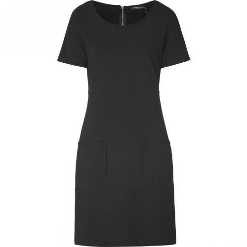 Betty Barclay Jerseykleid schwarz kurzärmlig