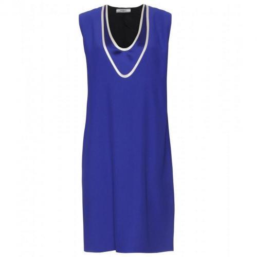 Bouchra Jarrar Kleid Mit Doppeltem Ausschnitt