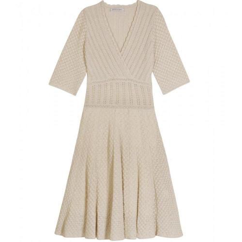 Bruno Manetti Lurex Detail Knit Dress