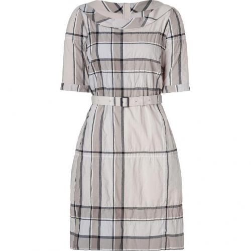 Burberry Brit Trench Check Crinkle Cotton Kristie Kleid