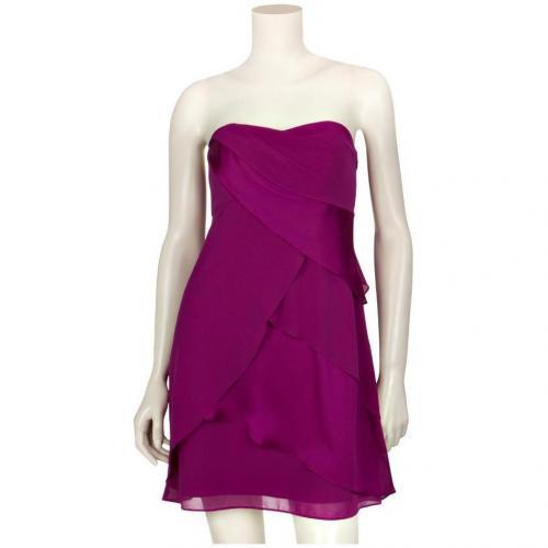 Coast Bandeau-Kleid Fortuna Pink