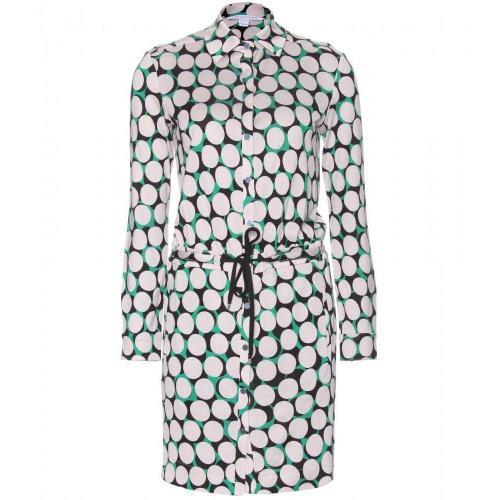 Diane von Furstenberg Kovacs Kleid Aus Seidenjersey