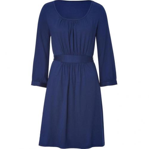DKNY Cadet Blue Belted Kleid
