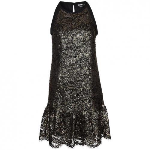 Dkny Cocktailkleid / festliches Kleid black Schulterfrei