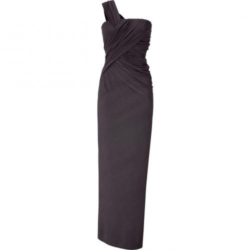 Donna Karan Shadow One Shoulder Maxi Kleid