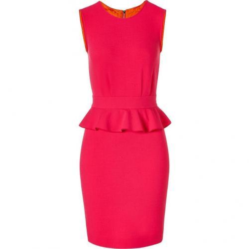 Emilio Pucci Lipstick Pink Ruffeld Dress