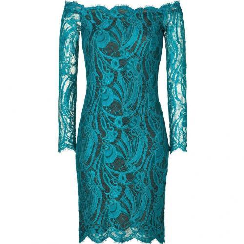 Emilio Pucci Shinning Petrol Lace Dress