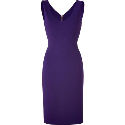 Emilio Pucci Violet Silk Lined Sheath Dress