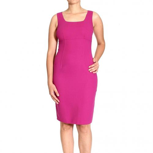 Ermanno Scervino Sleeveless double crepes dress