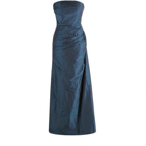 Fashionart Ballkleid blau Schulterfrei