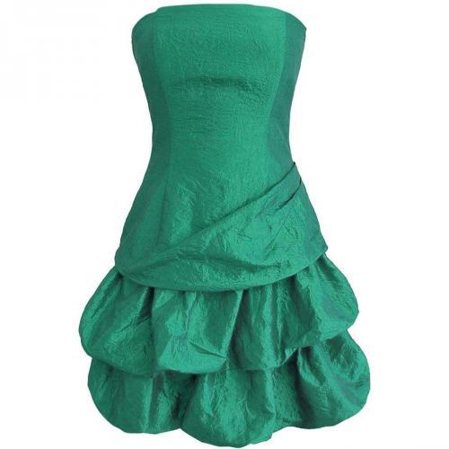 Fashionart Ballkleid grün Faltenrock