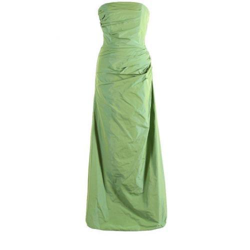 Fashionart Ballkleid grün Trägerlos