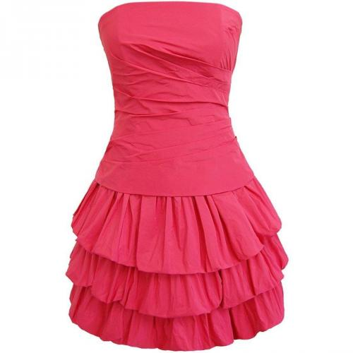 Fashionart Ballkleid pink Trägerlos
