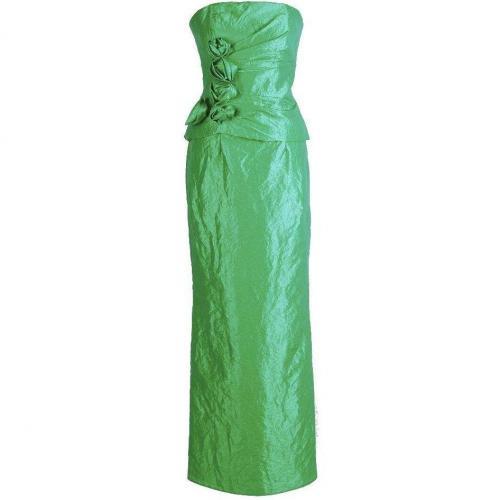 Fashionart langes Ballkleid grün