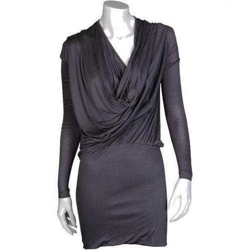 Fifth Avenue Shoe Repair Kleid Silk Jersey dunkelgrau