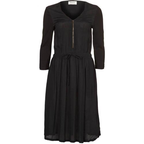 Ganni Madison Sommerkleid black