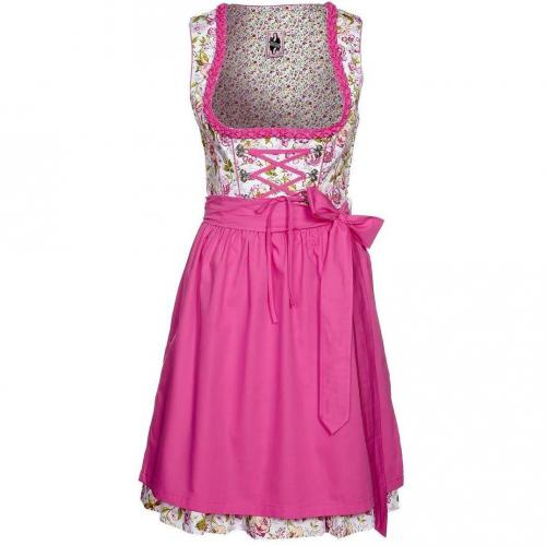 German Princess Rosengarten Cocktailkleid / festliches Kleid pink