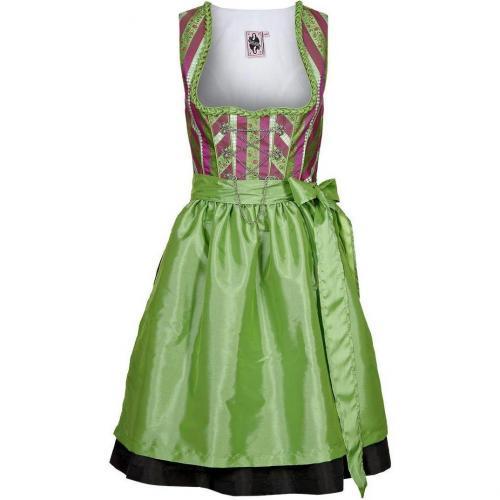 German Princess Schneewittchen Cocktailkleid / festliches Kleid grün