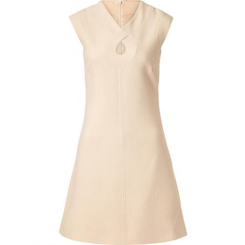 Goat Nude Romeo Keyhole Wool-Crepe Shift Dress