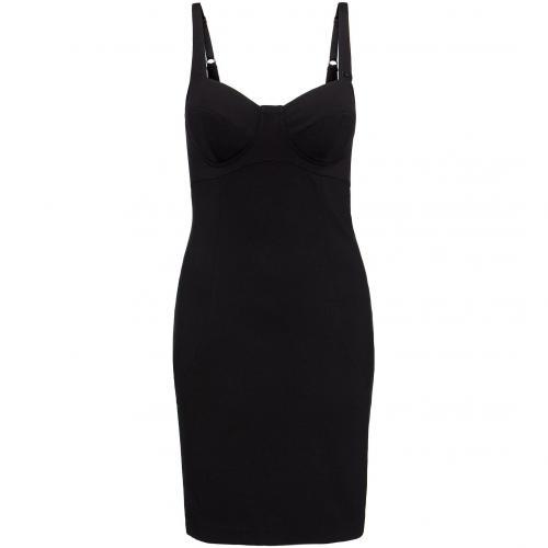 Guess Kleid schwarz Ärmellos