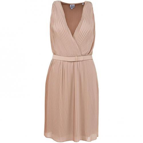 Halston Heritage Kleid Nude