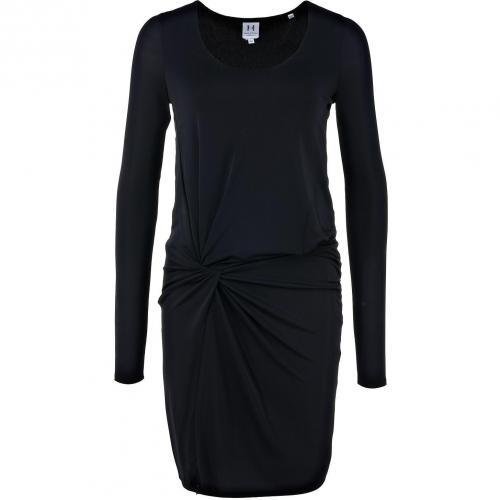 Halston Heritage langärmliges Kleid Schwarz