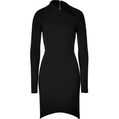 Helmut Lang Black Stretch Dress