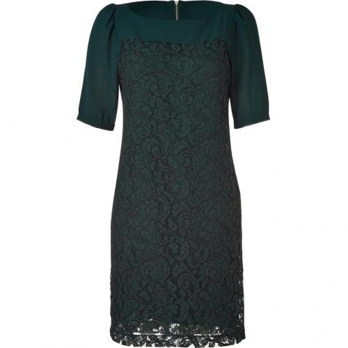 Hoss Intropia Forest Green Lace Dress