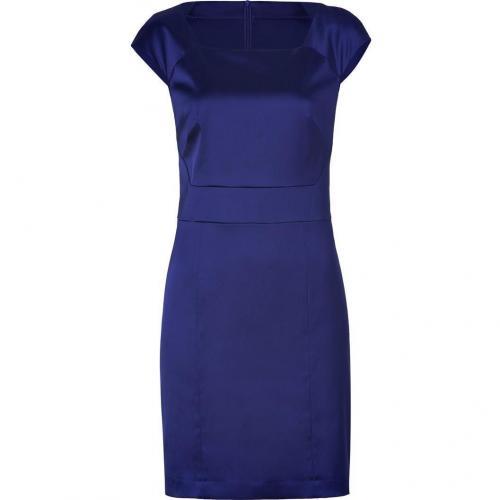 Hugo Dark Purple Satin Klenja Dress