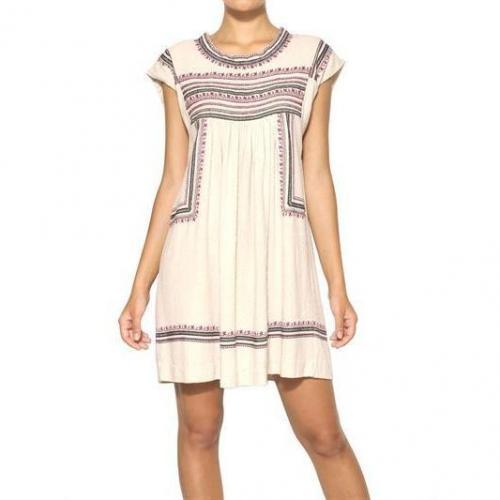 Isabel Marant Ètoile Besticktes Kleid Aus Rohseide